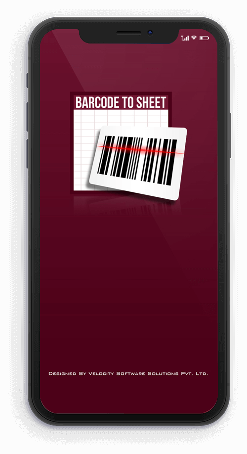 Barcode to Sheet Mobile App (Andriod & iOS)
