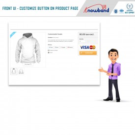 Product Designer / Customizer - Prestashop Dodatki