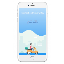 Application mobile OpenCart Delivery Boy