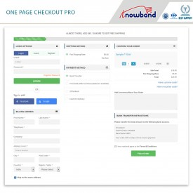 One Page Checkout Pro - Opencart Extension