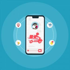 PrestaShop Delivery Boy Mobile App