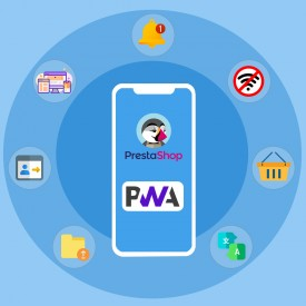 PrestaShop PWA Mobile App