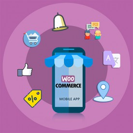 iOS Mobile App Builder Free - WooCommerce