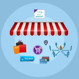 Rynek wielu dostawców - rozszerzenia OpenCart