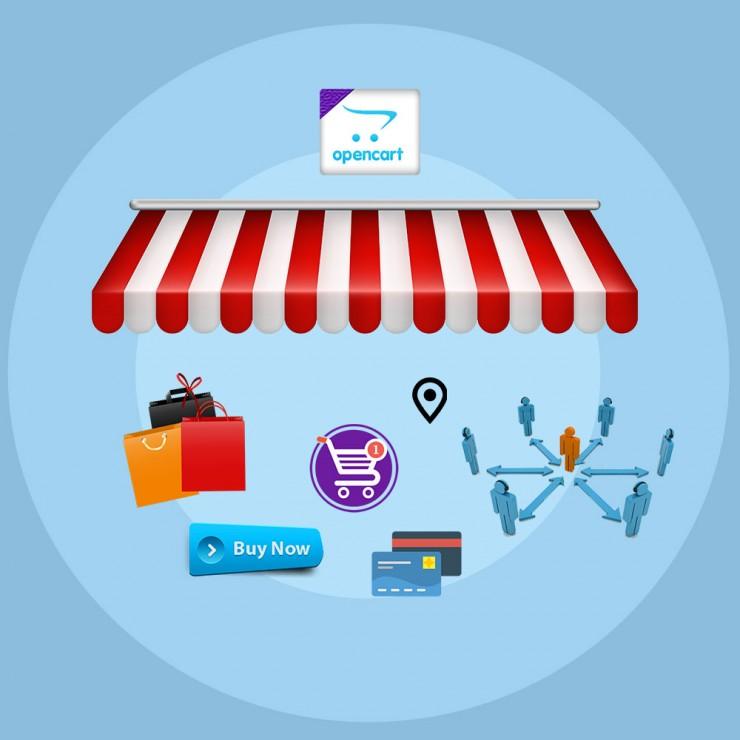 Opencart marketplace integration
