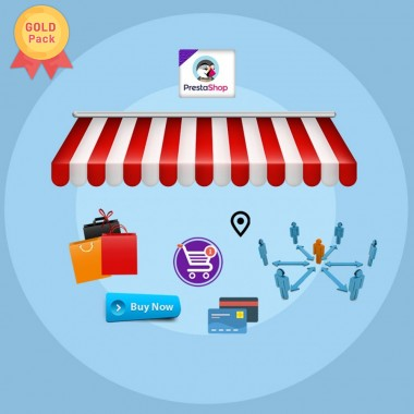 PrestaShop Multi-Vendor Marketplace Gold Plan