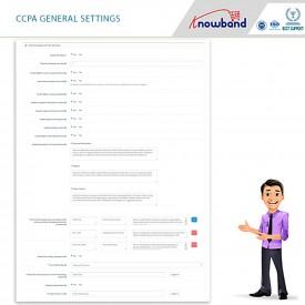 California Consumer Privacy Act (CCPA)  - Opencart Extension