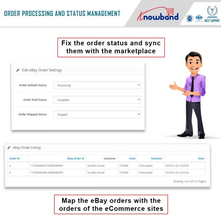 eBay Prestashop Integrator