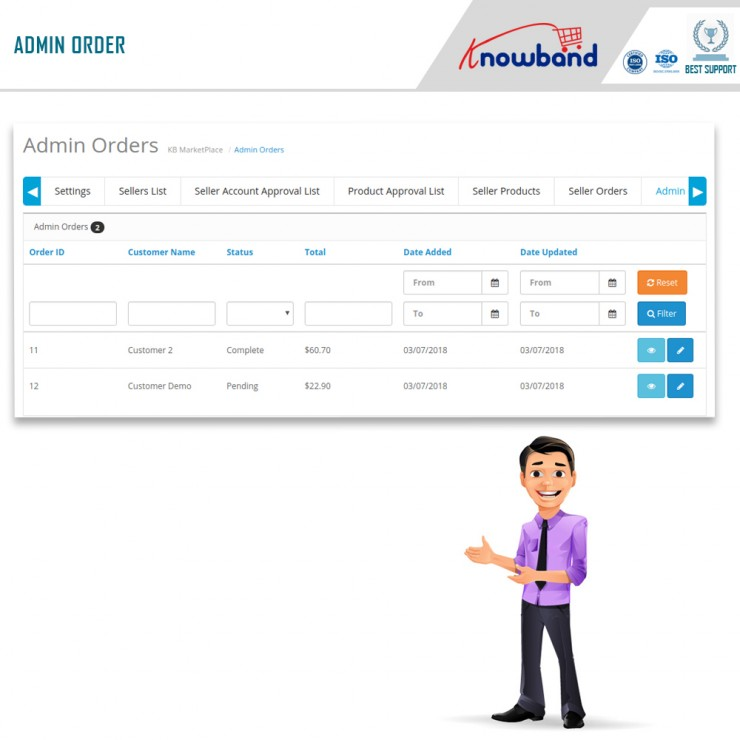 OpenCart Marketplace Module