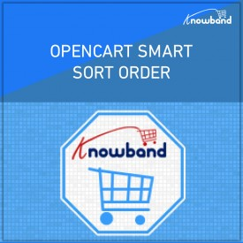 Smart Sort Order - OpenCart Extensions