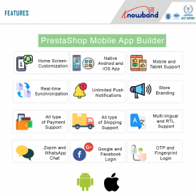 Prestashop Mobile App builder