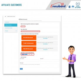 Programma di affiliazione e referral - Prestashop Addons