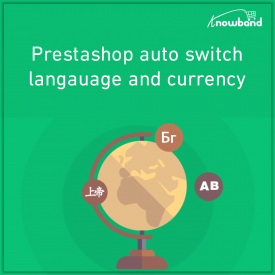 Prestashop Auto Switch Lingua e valuta - Prestashop Addons