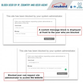 Blocker - Block Bot/User by IP country or User Agent - Prestashop Addons