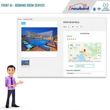 Booking and Rental System - Prestashop Addons