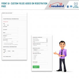 Custom Registration Fields - Prestashop Addons