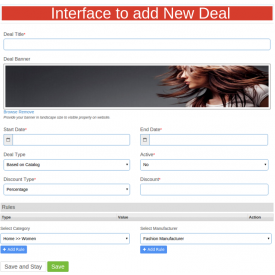 Dodatek Marketplace Deal Manager - Dodatki Prestashop