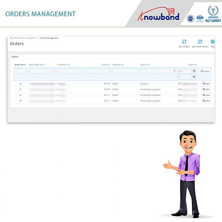 eBay PrestaShop Integration Module- Prestashop Marketplace Modules