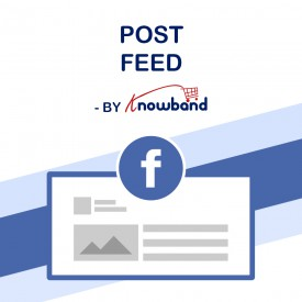 Flux de Post Facebook - Prestashop Addons