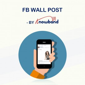 Post na ścianie FB - Shopify