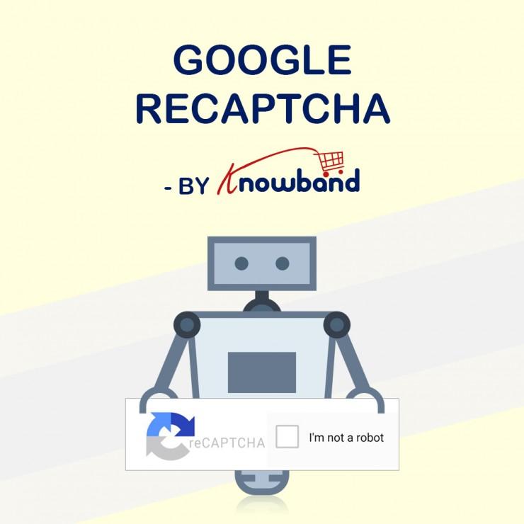 Prestashop Google reCaptcha Addon