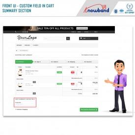 Addizionali moduli d'ordine / Field Manager - Prestashop Addons