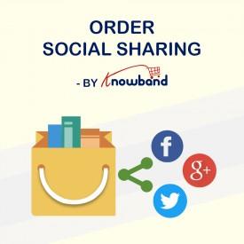 Compartir Pedidos en Redes Sociales - Prestashop Addons