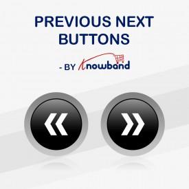 Poprzednie Następne przyciski na stronie produktu - Prestashop Addons