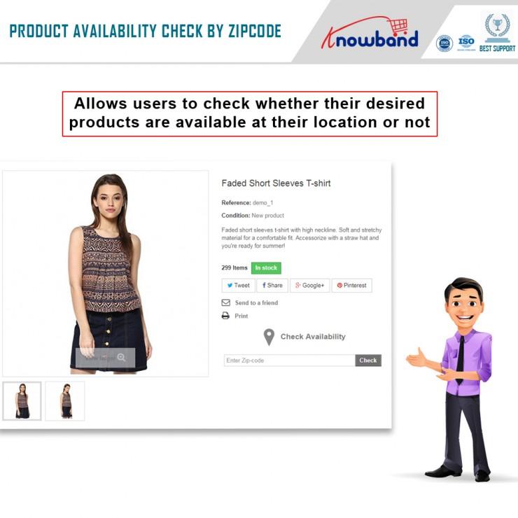 Prestashop Product Availability