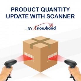 Actualización de la cantidad de producto por escáner - Prestashop Addon