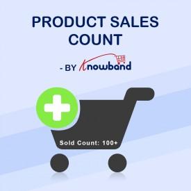 Product Sales Count - Prestashop Addons