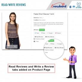 Promemoria e incentivi per la recensione del prodotto: add-on Prestashop