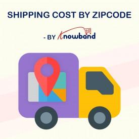 Koszt wysyłki według kodu pocztowego - Prestashop Addons