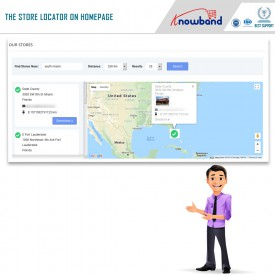 Localizador de tienda y recogida - Prestashop Addons