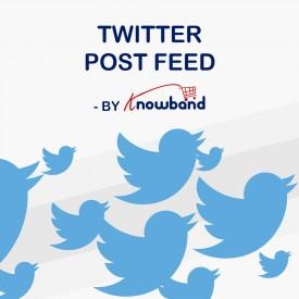 Actividad de Twitter - Prestashop Addons