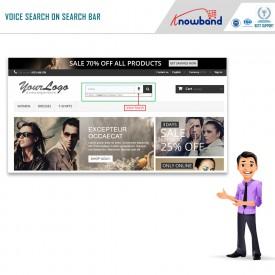 Wyszukiwanie i pisanie głosowe - Dodatki Prestashop