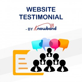 Testimonianza del sito Web - Add-on di Prestashop