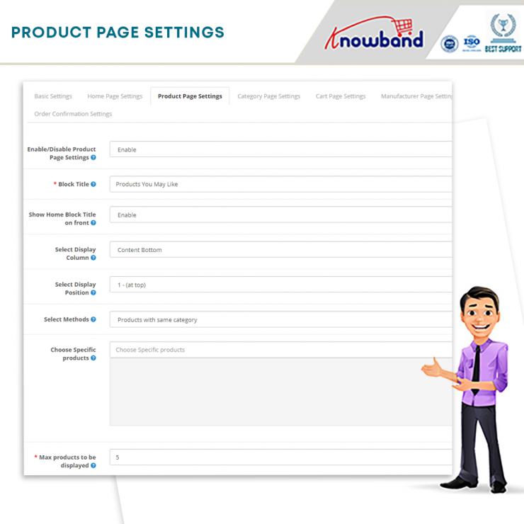 OpenCart related product module