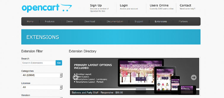 Comes equipped with free and affordable themes and modules | knowband