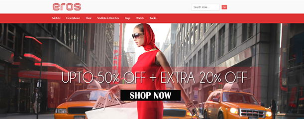 Some Top Free 2015 Magento Themes for your store- Eros | Knowband