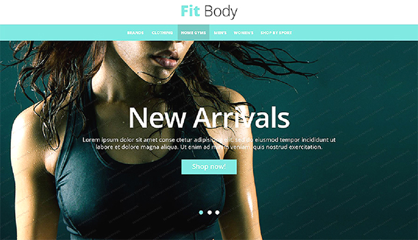 Some Top Free 2015 Magento Themes for your store- Fit Body | Knowband