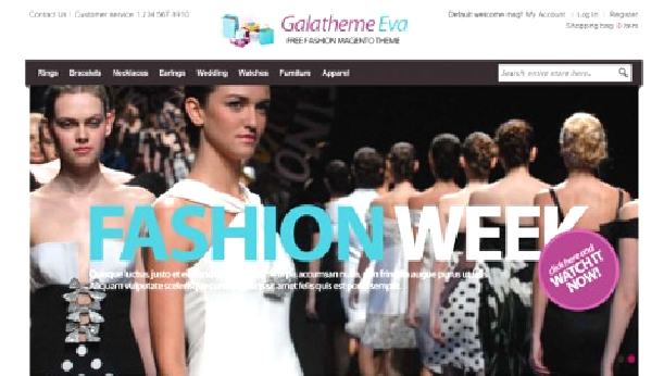 Some Top Free 2015 Magento Themes for your store- Gala Eva | Knowband