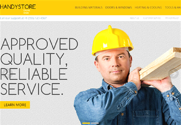 Some Top Free 2015 Magento Themes for your store- HandyStore | Knowband