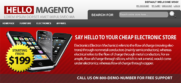 Some Top Free 2015 Magento Themes for your store- HelloMagento | Knowband