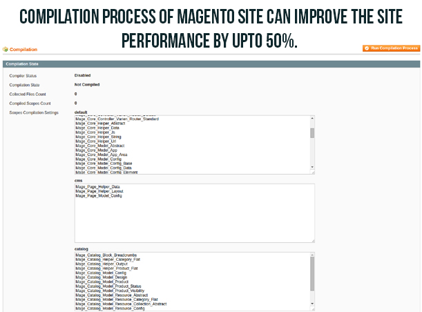 Turbo Boost Your Magento Site With These Tips- Initiate the Magento compilation process | Knowband